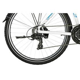 "Serious Rockaway Street - Vélo junior Enfant - 26"" blanc/Bleu pétrole"